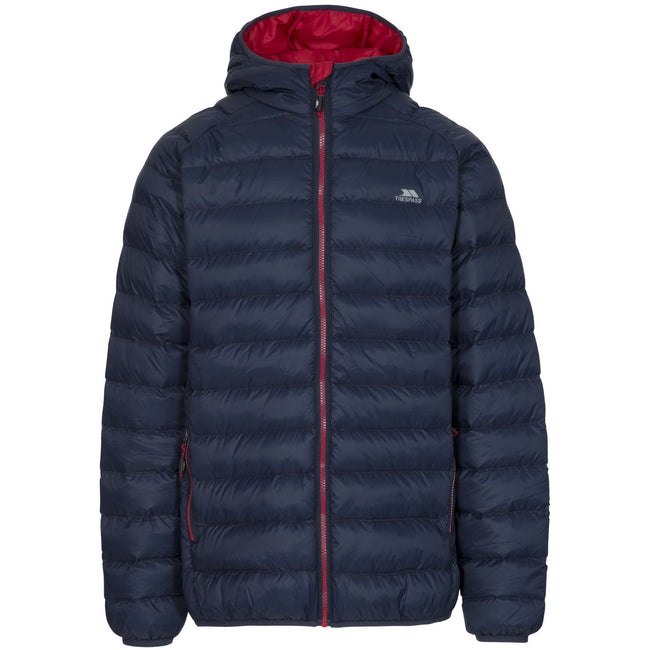 Navy - Front - Trespass Mens Bosten Casual Padded Jacket