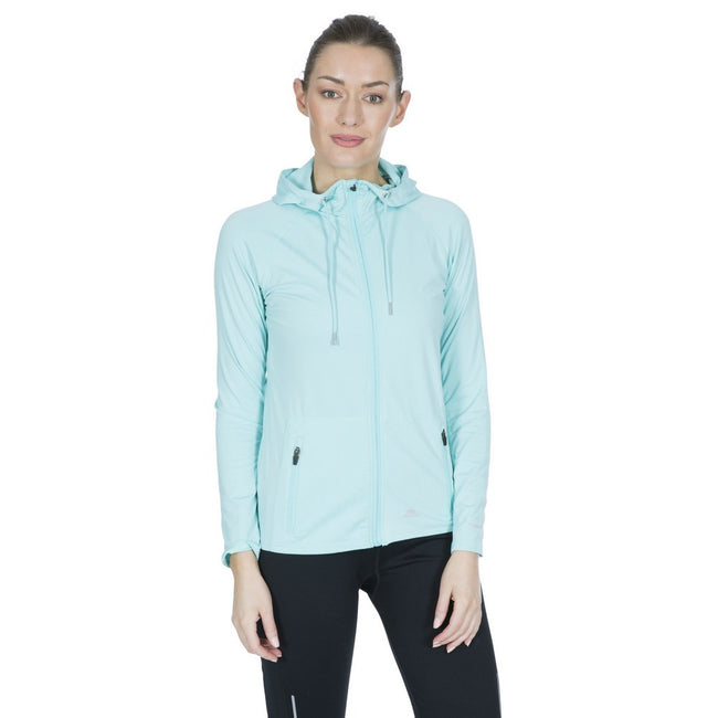 Tropical - Back - Trespass Womens-Ladies Dacre Active Hoodie