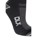 Black - Side - Trespass Unisex Amphibian Waterproof DLX Socks
