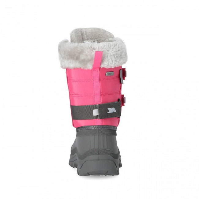 Pink Lady - Back - Girls Trespass Stroma II Snow Boot