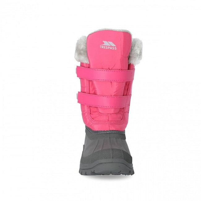 Pink Lady - Front - Girls Trespass Stroma II Snow Boot