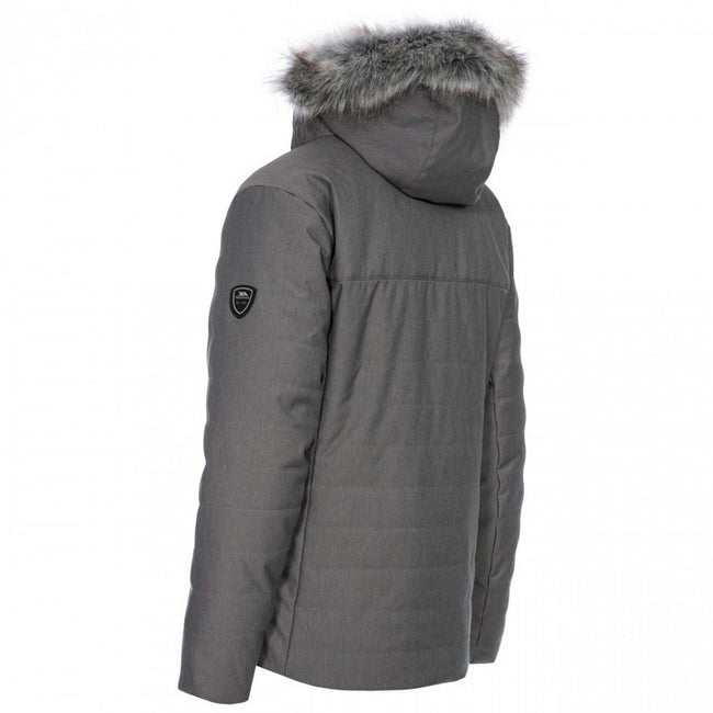 Dark Grey - Back - Trespass Womens-Ladies Wisdom Ski Jacket