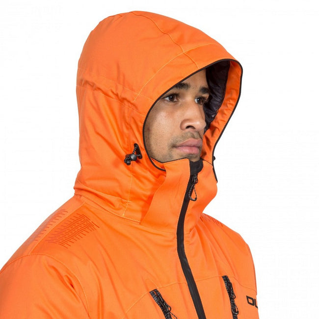 Orange - Lifestyle - Trespass Mens  DLX Banner Ski Jacket