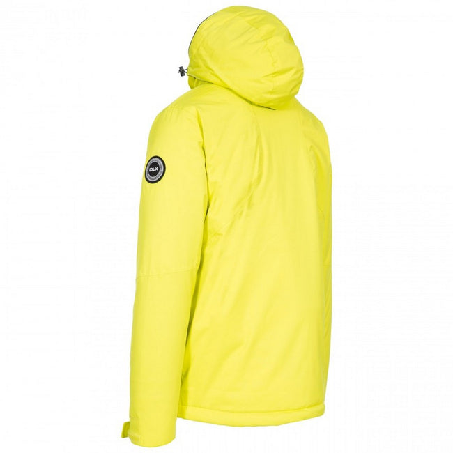 Limeade - Back - Trespass Mens  DLX Banner Ski Jacket