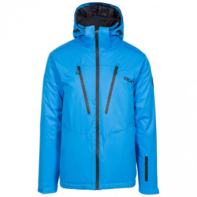 Vibrant Blue - Front - Trespass Mens  DLX Banner Ski Jacket
