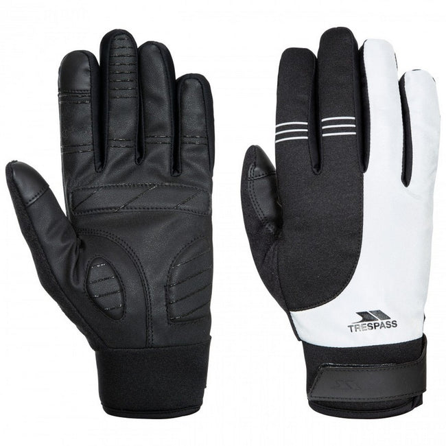 Reflective - Front - Trespass Unisex Adults Franko Sport Touchscreen Gloves