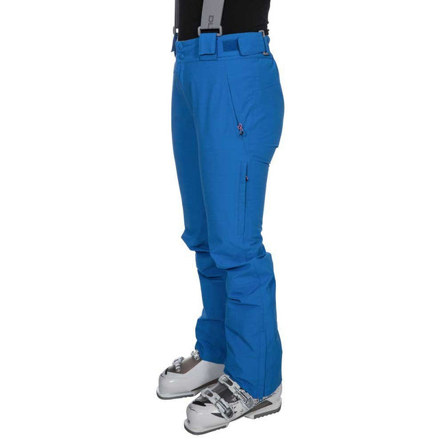 Vibrant Blue - Pack Shot - Trespass Womens-Ladies Jacinta DLX Ski Salopettes Trousers