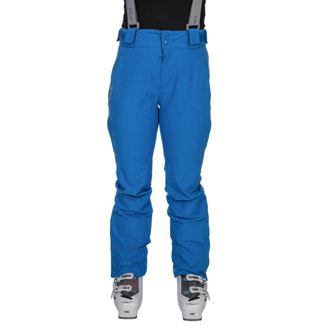 Vibrant Blue - Front - Trespass Womens-Ladies Jacinta DLX Ski Salopettes Trousers