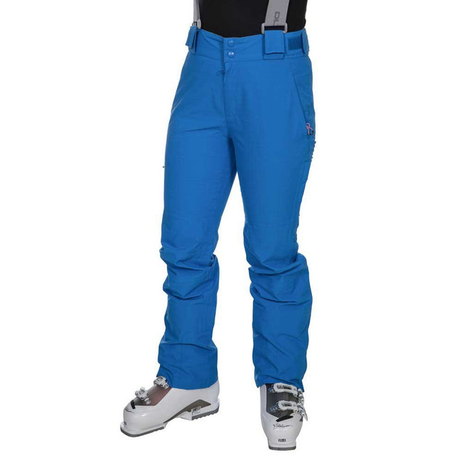 Vibrant Blue - Back - Trespass Womens-Ladies Jacinta DLX Ski Salopettes Trousers