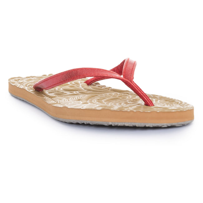 Metallic Rosie - Front - Trespass Womens-Ladies Roslyn Flip Flop