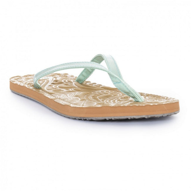 Metallic Peppermint - Front - Trespass Womens-Ladies Roslyn Flip Flop