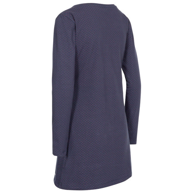 Navy Marl Spot - Back - Trespass Womens-Ladies Ronnie Casual Tunic