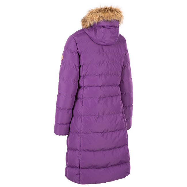 Cosmic Blue - Back - Trespass Womens-Ladies Audrey Padded Jacket