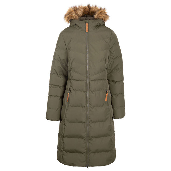 Sandstone - Front - Trespass Womens-Ladies Audrey Padded Jacket