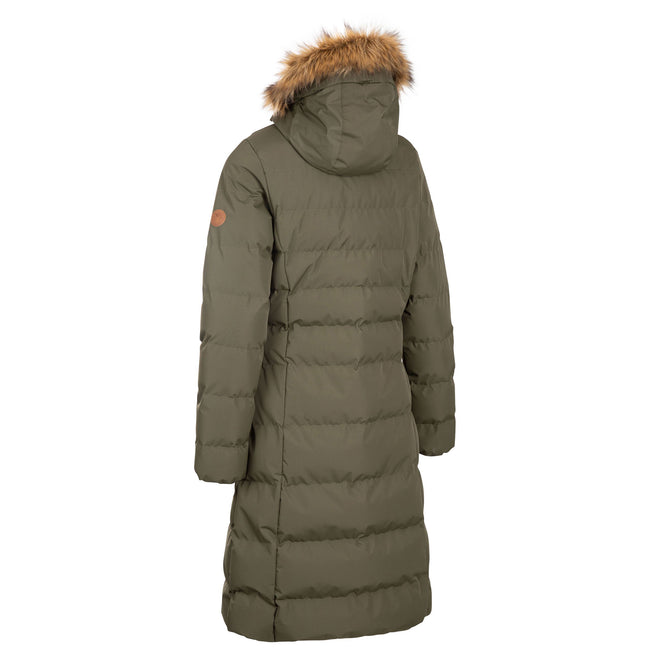 Sandstone - Back - Trespass Womens-Ladies Audrey Padded Jacket