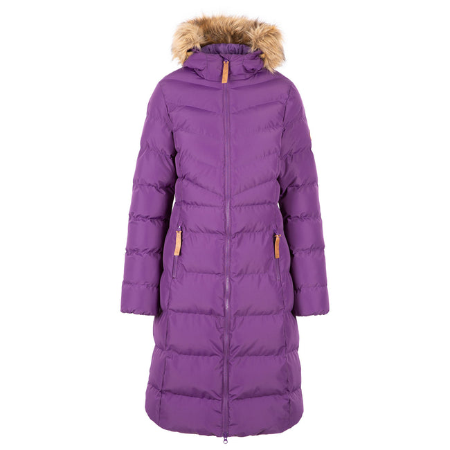 Cosmic Blue - Front - Trespass Womens-Ladies Audrey Padded Jacket