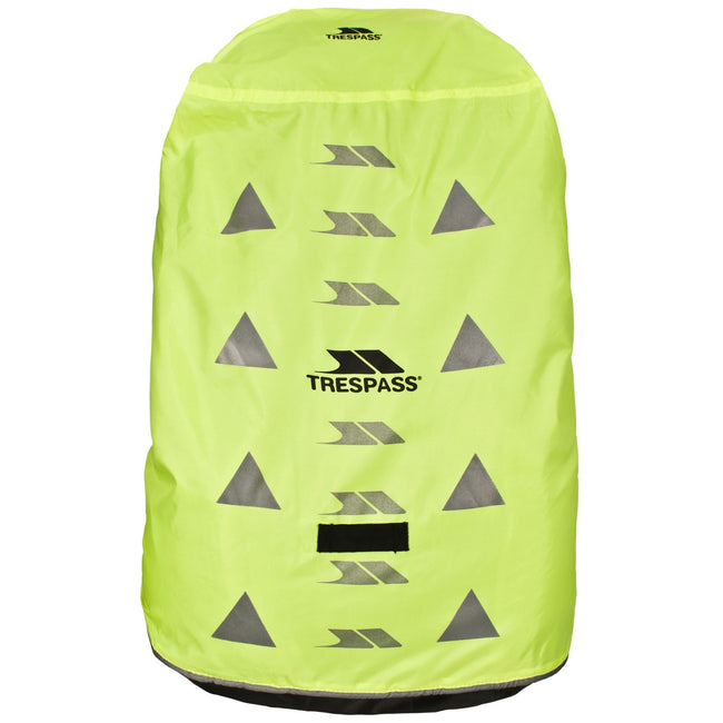 Yellow - Front - Trespass Sulcata Reflective Rucksack-Backpack Cover