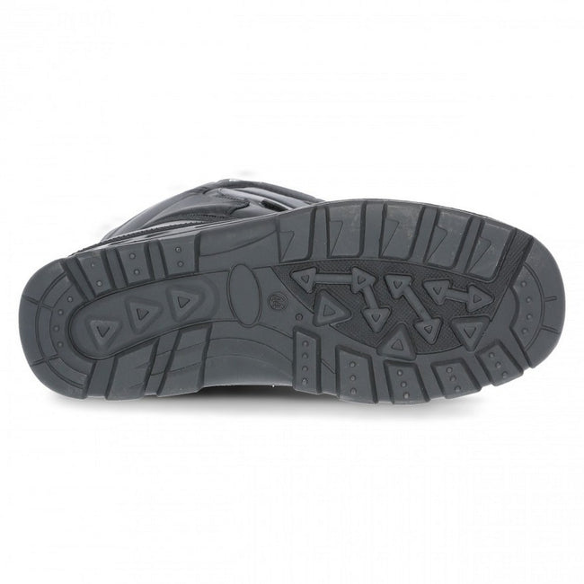 Black - Lifestyle - Trespass Unisex Dodo Pull On Winter Snow Boots
