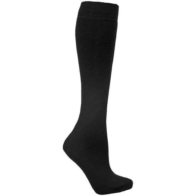 Red - Front - Trespass Adults Unisex Tubular Luxury Wool Blend Ski Tube Socks
