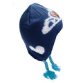 Blue - Front - Frozen Childrens-Kids Anna & Elsa Winter Hat