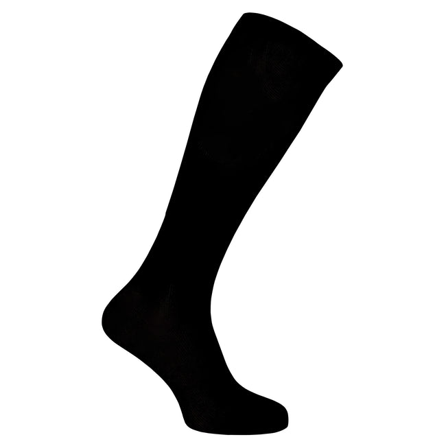Black - Front - Pharma Sock Unisex Compression Socks (1 Pair)