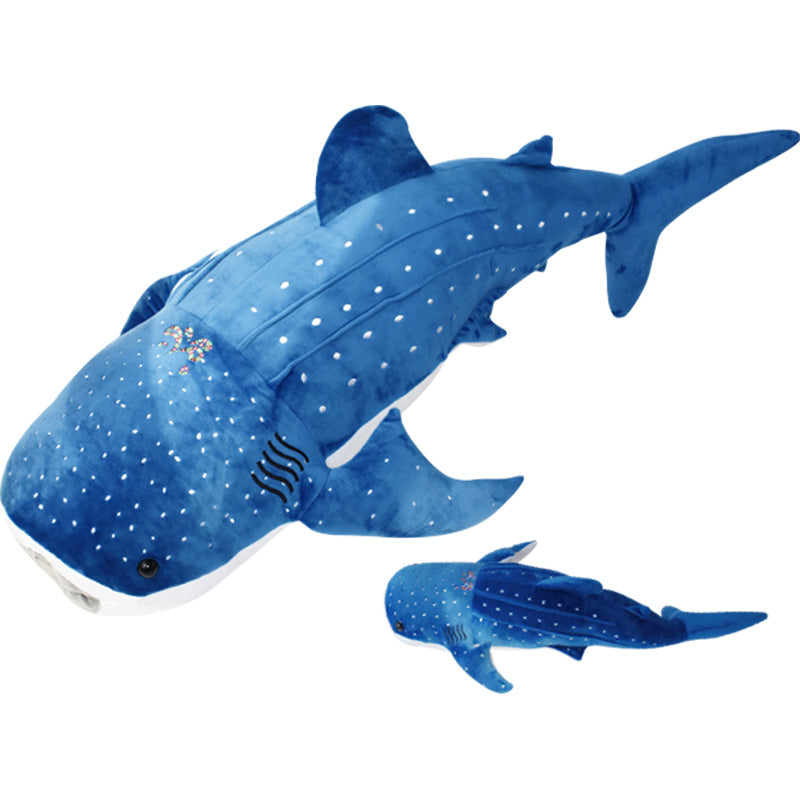 50 120cm Giant Whale Shark Plush Toys Stuffed Animals Beeimpress