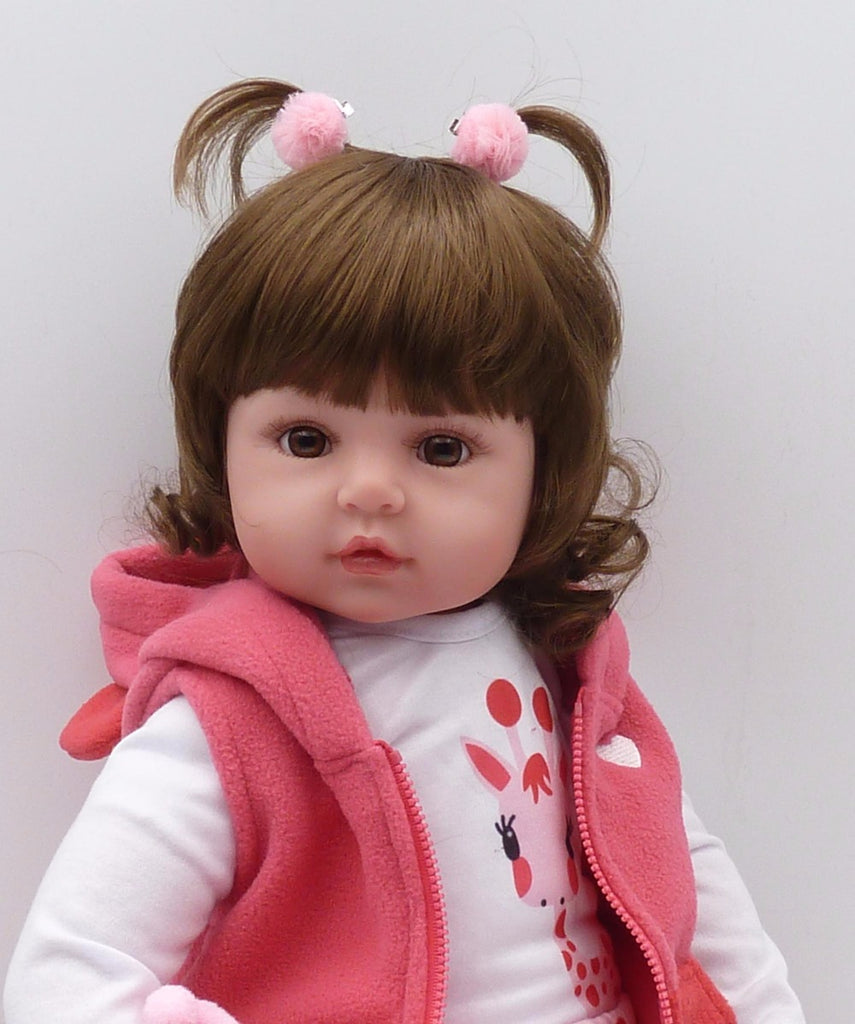 Reborn Baby Dolls Toddler Toy Silicone