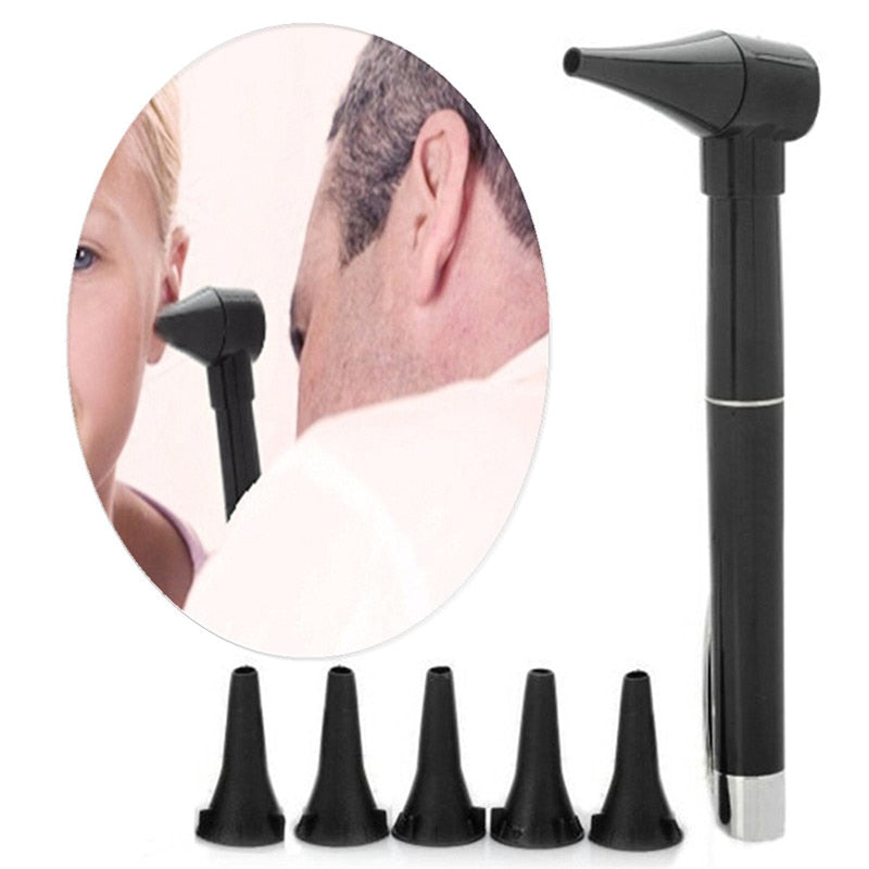 Ear Otoscope Examination