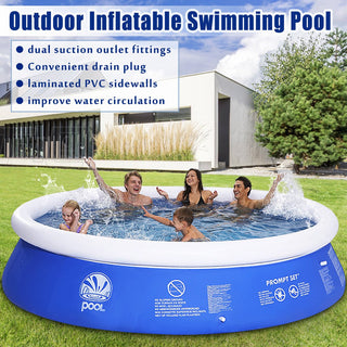 Family Pool PVC Inflatable Swimming
