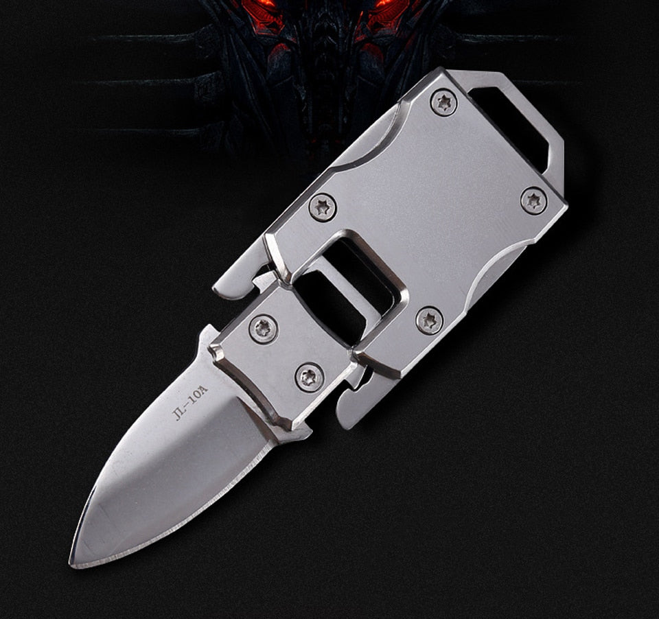 Mini Pocket Tactical Folding Knives Stainless Steel