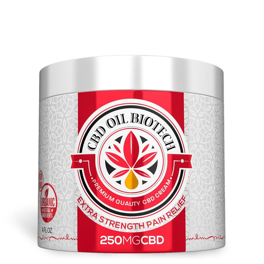 Biotech CBD Topical Cream 250MG