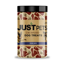 Load image into Gallery viewer, JustPets CBD Dog Treats CBD For Dogs