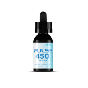 Pulse CBD Tincture 450mg +MCT Oil - Full Spectrum 15ml