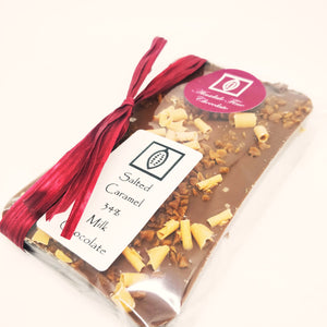 Salted Caramel 34% Milk Chocolate 100g Bar