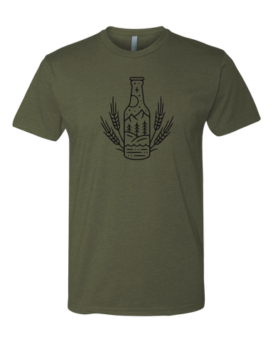 The Bottle and Grain Tee
