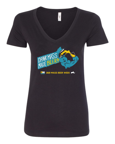 Mass Beer Week Ladies' Shirt