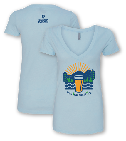 NH Brewers Association #yourNextbeerisHere Ladies' Shirt