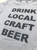The DRINK LOCAL Ladies Tee