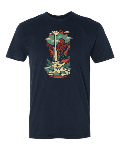 The Beer Can Waterfall Tee