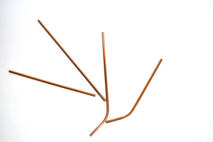 Bronze Stainless Steel Straws