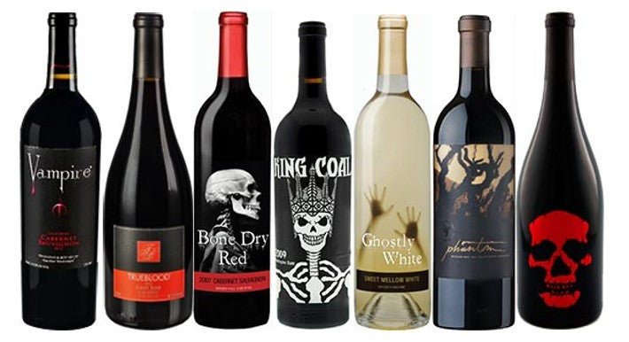 Scary Wines for a Halloween Wine Tasting Event
