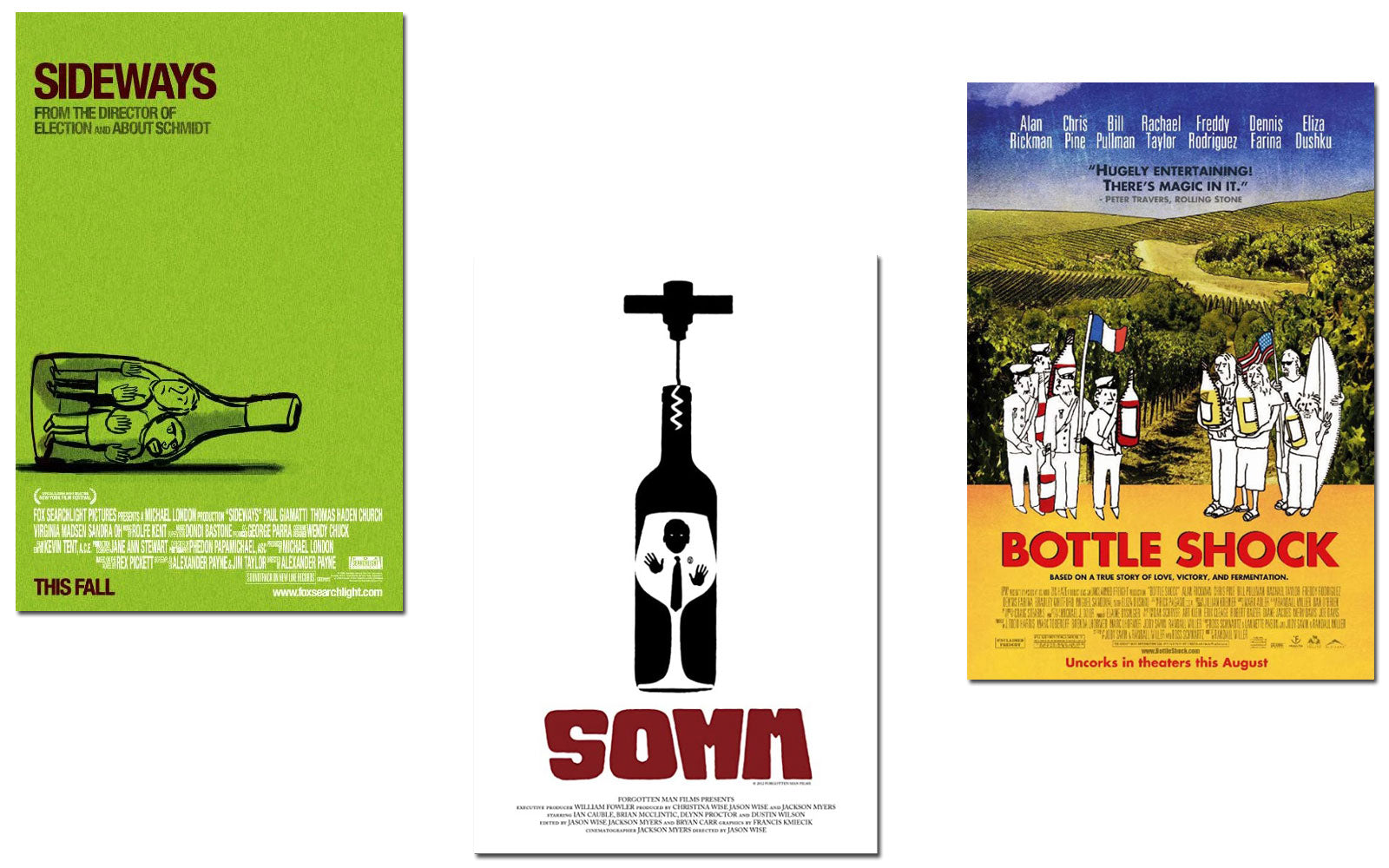 Wine and Movie Pairings