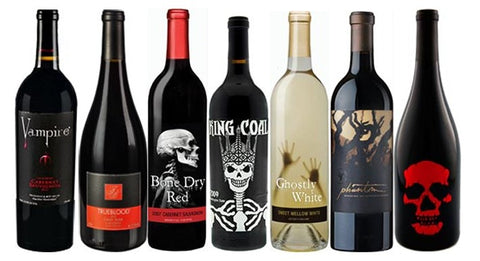 Halloween Themed Wine Tasting Recommendations