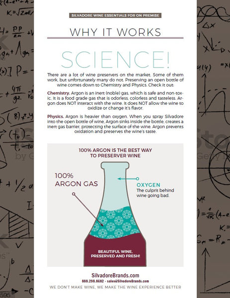 The Science Behind Silvadore Wine Preserver