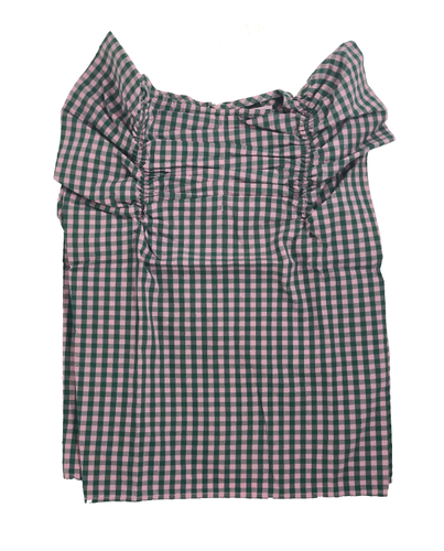 Angel Check Blouse - The Tiny Urban