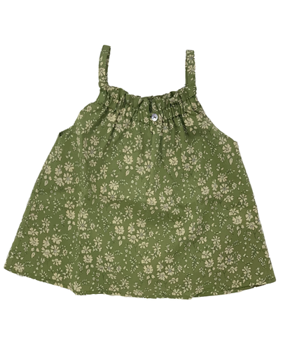 Coco Ruched Summer Smock Top - The Tiny Urban