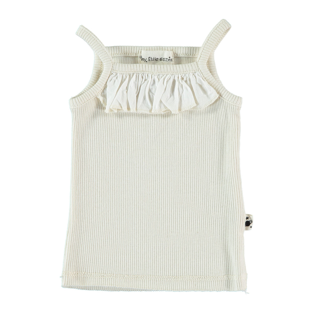 Knit Organic Rib Top - The Tiny Urban