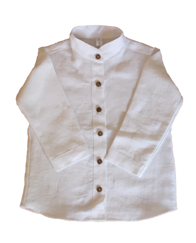 White Linen Shirt - The Tiny Urban
