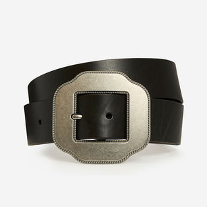 Lucky Clover - Black Bridle Belt