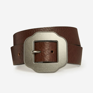 Lucky Clover - Brown Bridle Belt